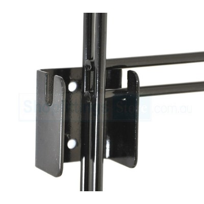 Grid Mesh Wall Mounting Double Bracket