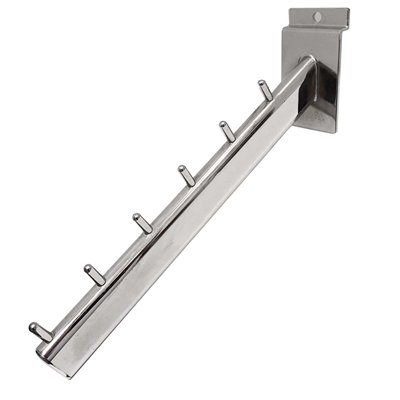 Slat Panel Waterfall Arm 6 Pin Chrome