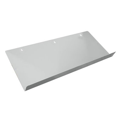 Metal Shelf with Lip for straight and angled brackets