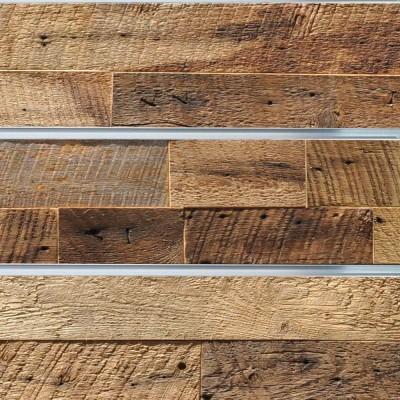Reclaimed Wood Deco-Slatwall
