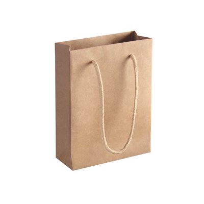 50 Brown paper bags 200x150x60mm