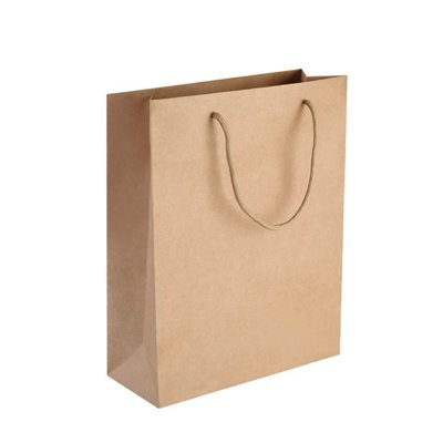 50 Brown paper bags 330x280x100mm