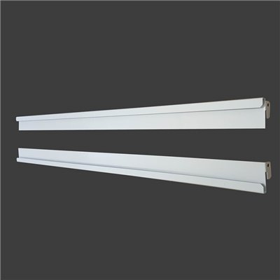 Sign Holder Rails for Metal Gondolas 50mm pitch