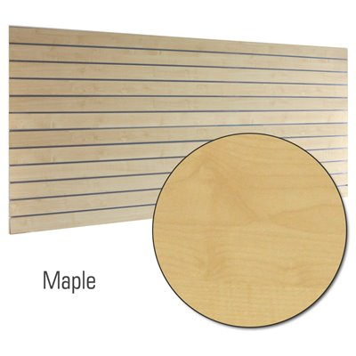Slatwall Panel Maple 2400x1200