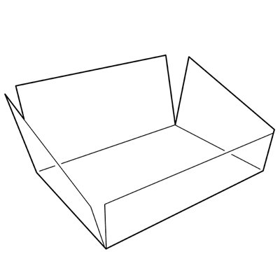 Clear Liner for wooden Crate