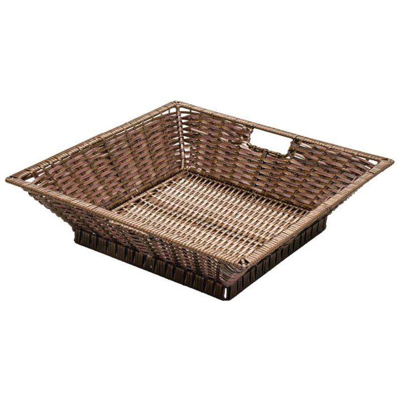 Square Polywicker Basket