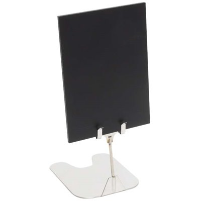 Free-Standing stainless steel Sign Holder