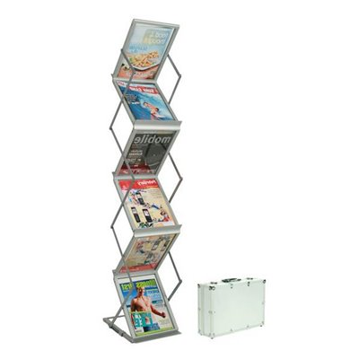 Portable Brochure Holder 6x A4