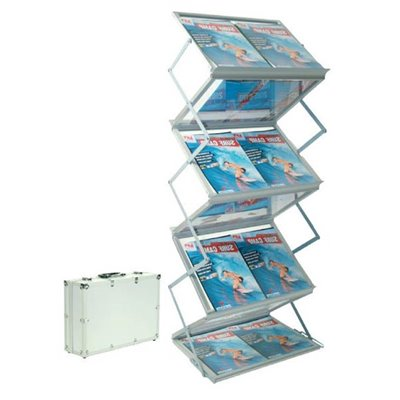 Portable Brochure Holder 6x A3