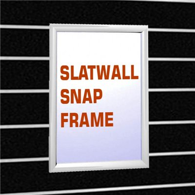 Slat Wall Snap Frame Poster Holder