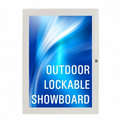 Lockable Outdoor Showboard