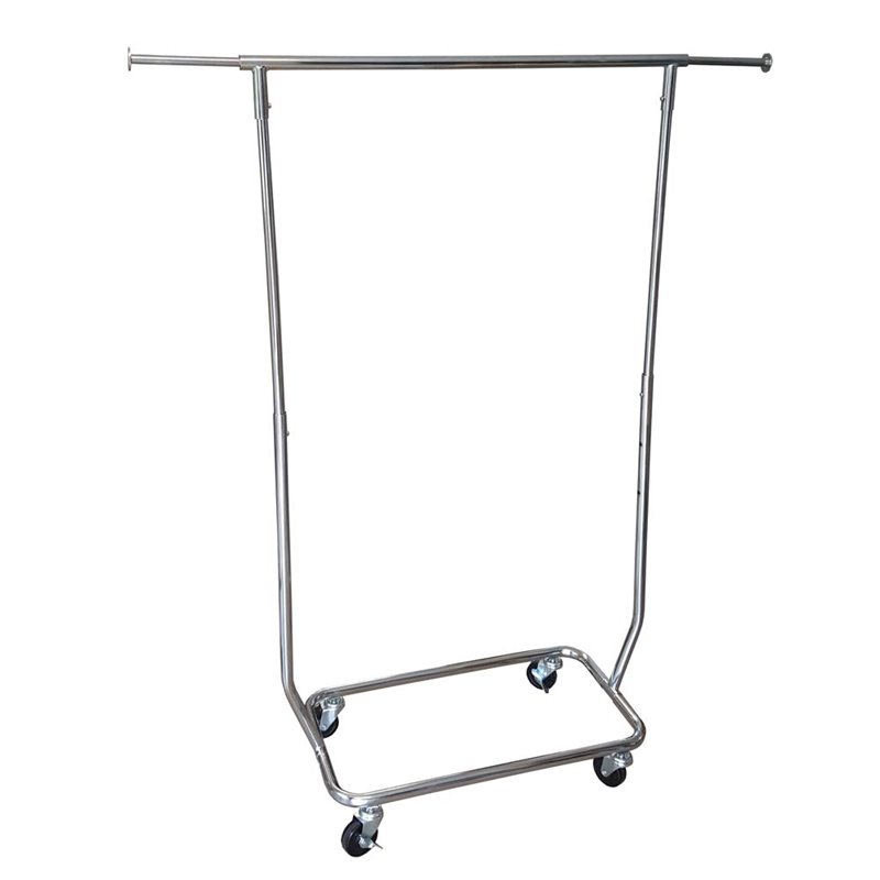 MINI Salesman Clothes Rack Chrome