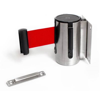 Retractable Barrier Pole and Red Cassette