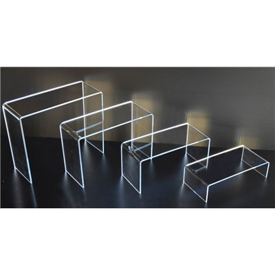 Acrylic Stepped Riser - Set of 4
