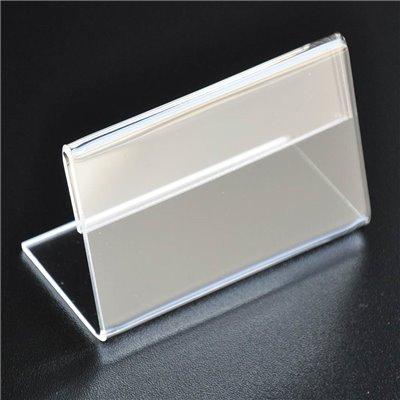 Acrylic Price Tag Holder