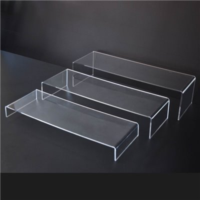 Acrylic Stepped Riser - Set of 3