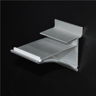 Slat Panel Glass Shelf Bracket
