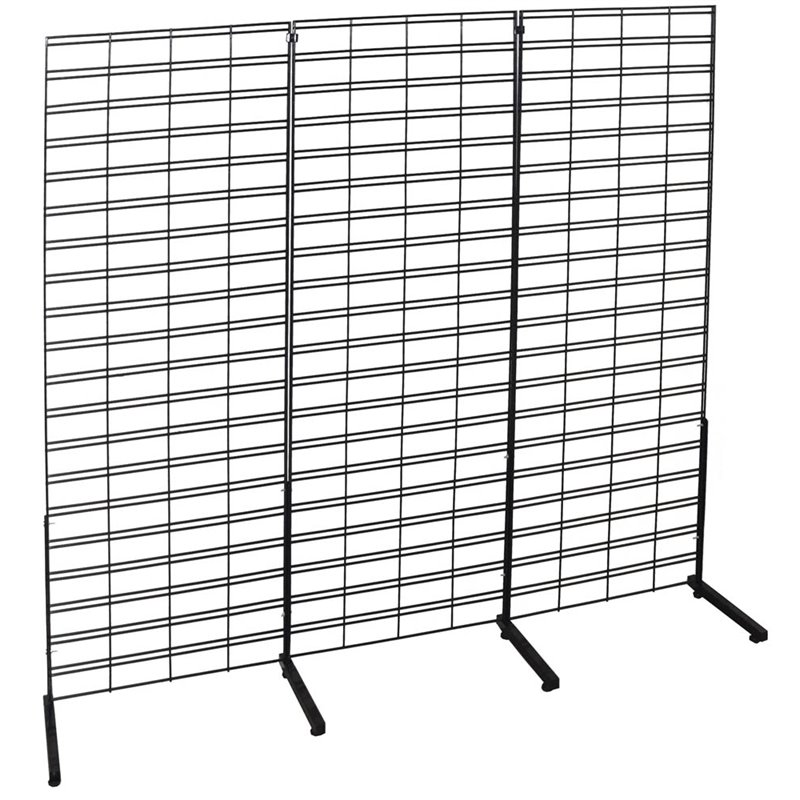 Slat Grid Stand Single sided 3 panels