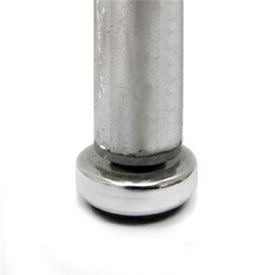 Foot for Round Tube 25mm Chrome