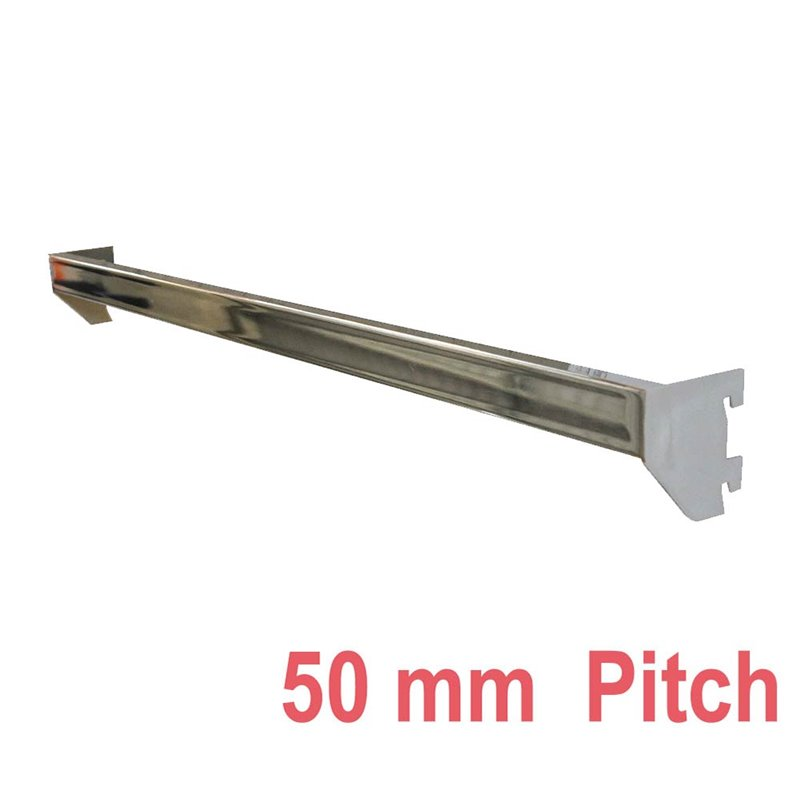 Cross Bar for Wall Strip 50mm pitch Chrome
