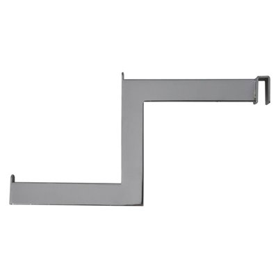 Wall Strip Crossbar Stepped Arm Chrome