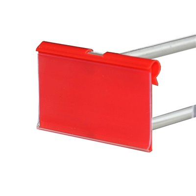 Flip Ticket Holder Black or Red