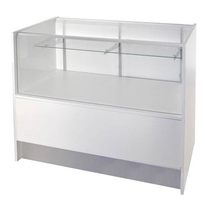 KIOSK Counter Glass Showcase with Storage 500(D)x950(H)mm