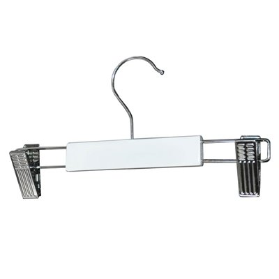Child Timber Clip Hanger White