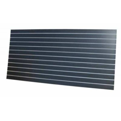 Slat Panel 1200x2400, 100mm Black