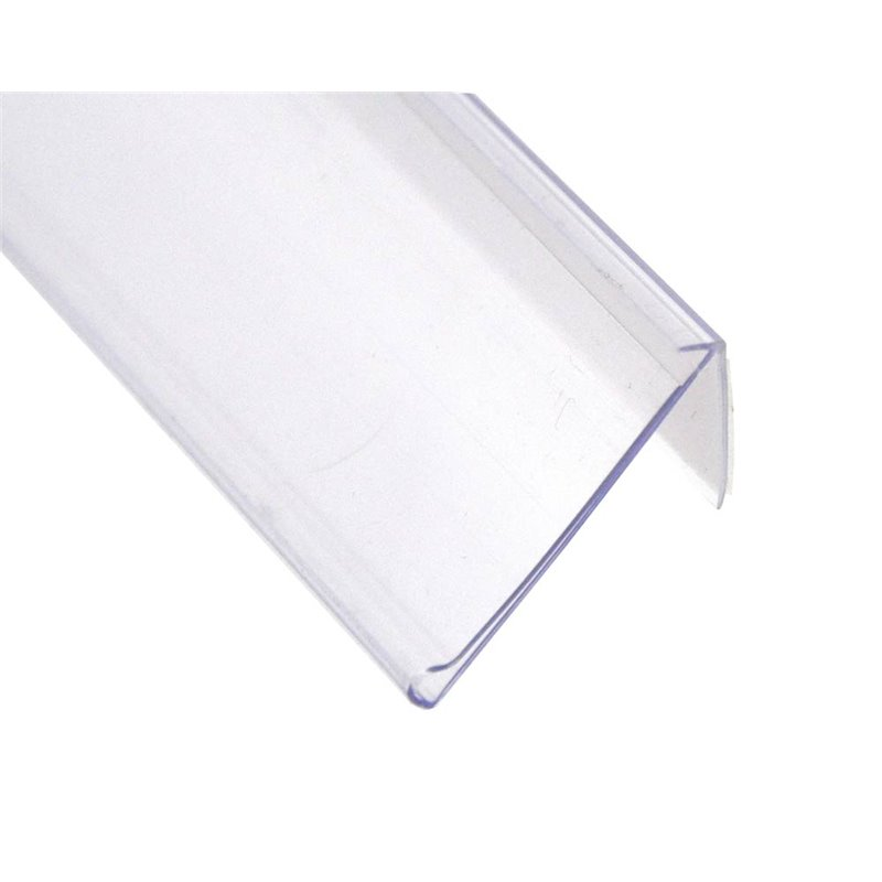 Angle Data Strip Adhesive 26mm Clear