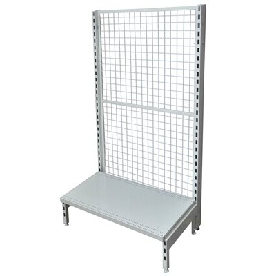 Single Sided Mesh Back Gondola White