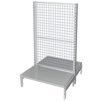 Double Sided Mesh Back Gondola White