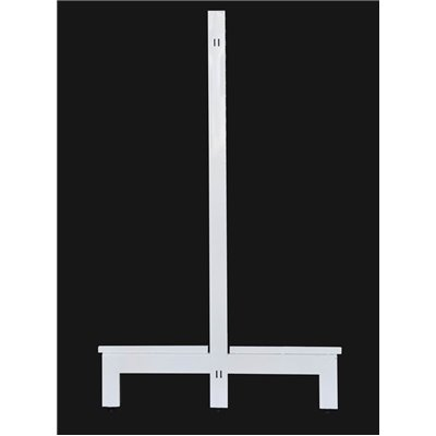 Gondola Shelving Double Post White