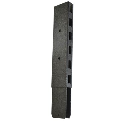 Gondola Shelving Post Extension 300mm Black/Hammertone