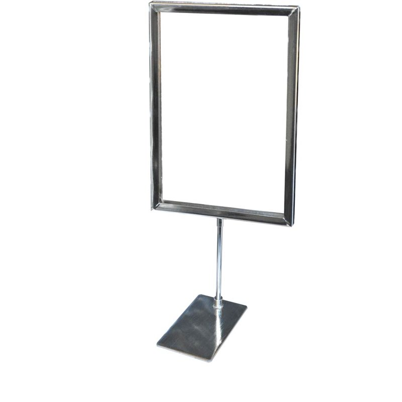 Metal Sign Holder with Base A3