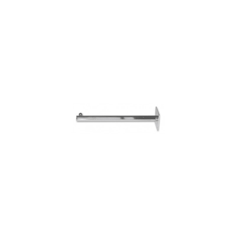 Wall Straight Faceout 300mm Chrome