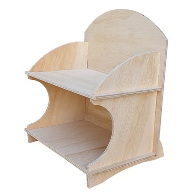 2-Tier Wooden Counter Display MAX 2