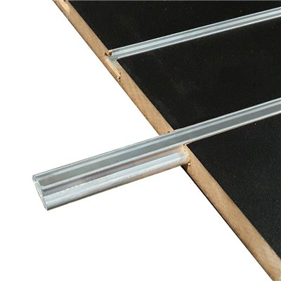 Aluminum T Extrusion for Slat Panel 2400 mm