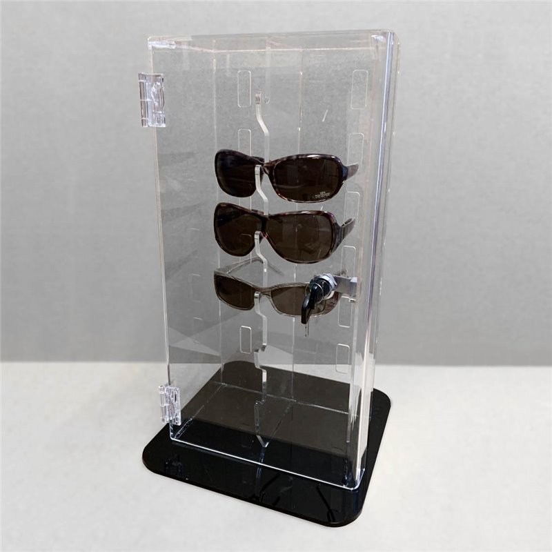 Sunglasses Lockable Stand for 8 pairs