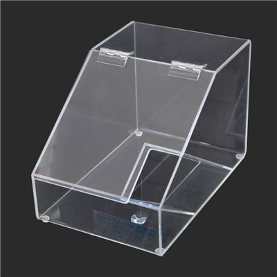 Acrylic Bulk Bin with Scoop Holder