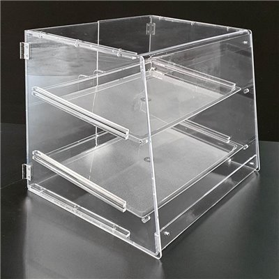 Acrylic Bakery Case 2 Trays
