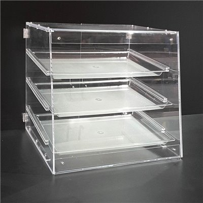 3 Tray Acrylic Bakery Case