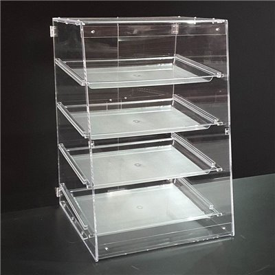 4 Tray Acrylic Bakery Case