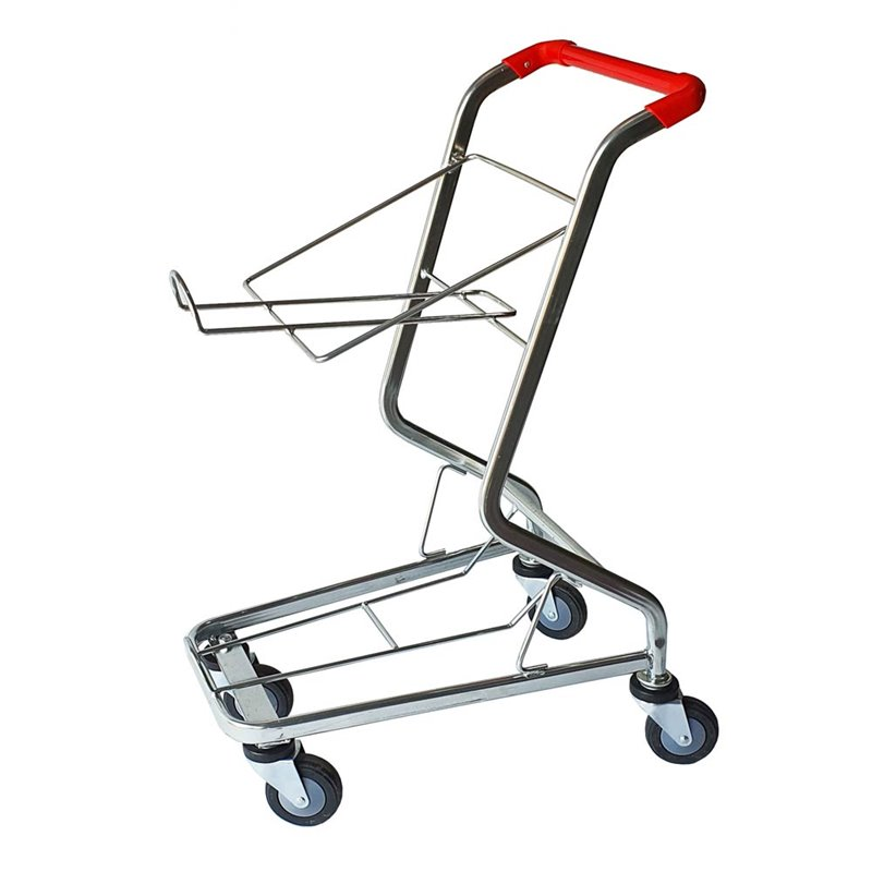 Shopping Basket Trolley Holds 2 Baskets