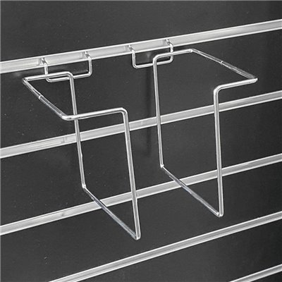 Slatwall Canvas Adjustable Wire Holder