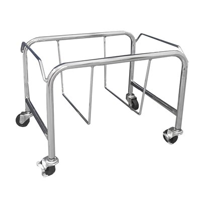 Shopping Basket Holder on Wheels