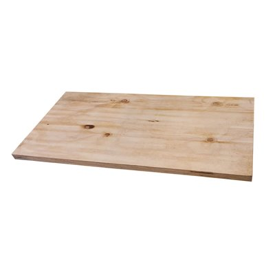 Plywood Industrial Look Shelf 25mm thick
