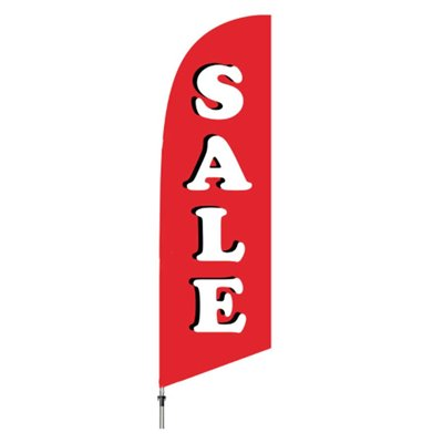 Outdoor Sale Flag ONLY