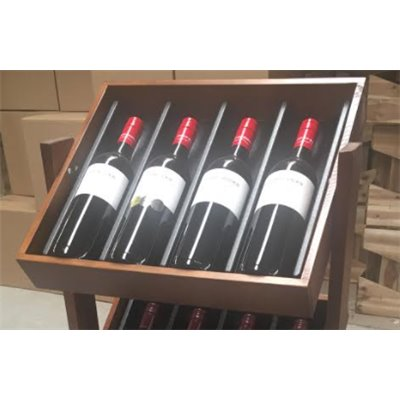 Wine Bottle Display – 4 bottle holder Insert