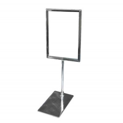 Metal Sign Holder with Base A5 or A4